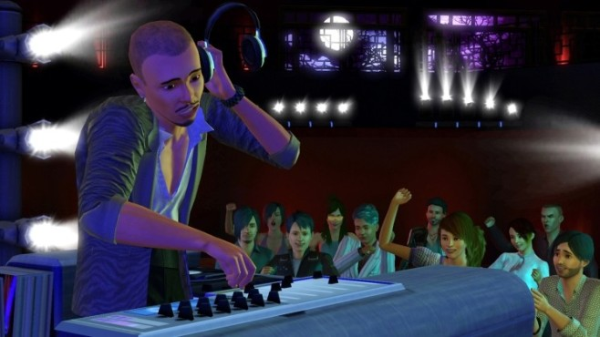 Simulation Die Sims 3 – Showtime: DJ ©Electronic Arts