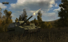 Online-Actionspiel World of Tanks: Artillerie © wargaming.net