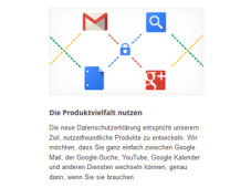Vernetzte Google-Dienste&nbsp;&copy;&nbsp;Google