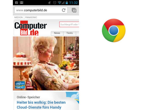 Google Chrome © Google Inc.