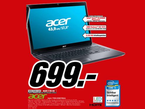 Acer Aspire 7750G-2458G75Mnkk ©Media Markt