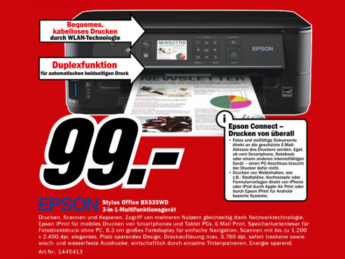 Epson Stylus Office BX535WD © Media Markt