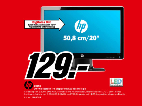 HP 2011x ©Media Markt
