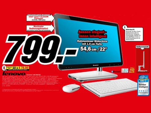 Lenovo IdeaCentre A320 VBS7HGE © Media Markt