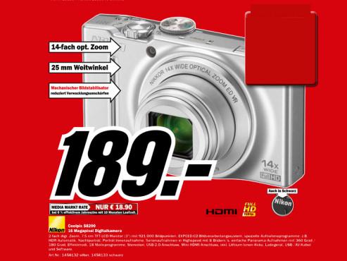 Nikon Coolpix S8200 ©Media Markt