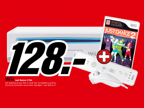 Nintendo Wii Just Dance 2 Pak © Media Markt