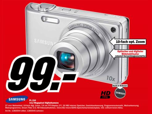 Samsung PL210 ©Media Markt