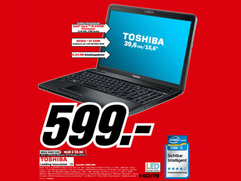 Toshiba Satellite C660-2NK © Media Markt
