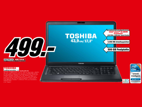 Toshiba Satellite C670-104 © Media Markt