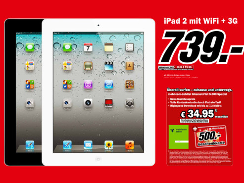 iPad 2 64GB © Media Markt