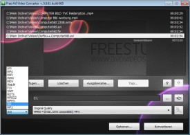 Screenshot 3 - Free AVI Video Converter