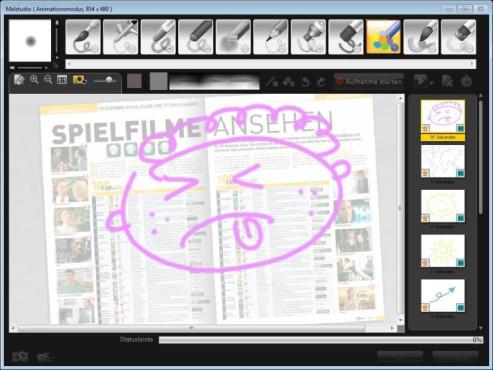 Corel VideoStudio Pro X4 ©COMPUTER BILD
