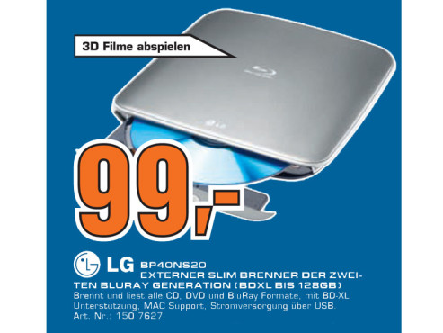 LG Electronics BP40NS20 © Saturn