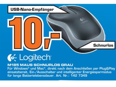 Logitech M185 ©Saturn