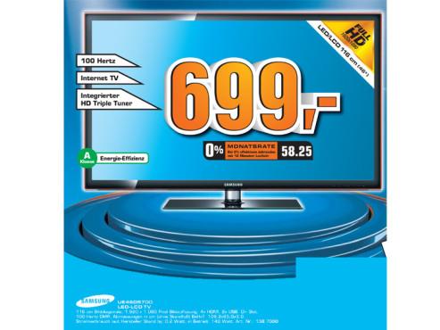 Samsung UE46D5700 ©Saturn