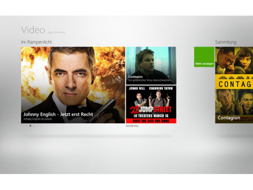 Video-App von Windows 8 © COMPUTER BILD