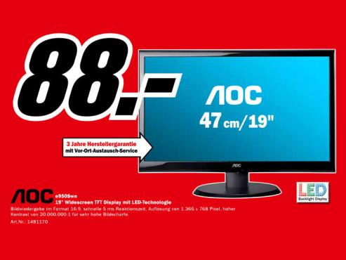AOC e950Swn ©Media Markt
