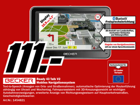 Becker Ready 43 Talk V2 © Media Markt