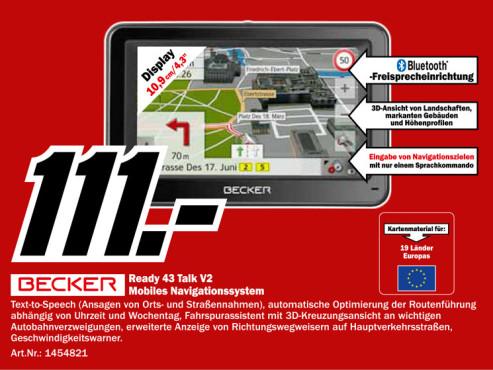Becker Ready 43 Talk V2 ©Media Markt