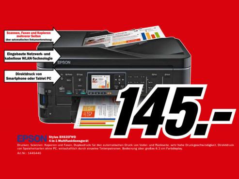 Epson Stylus BX635FWD ©Media Markt