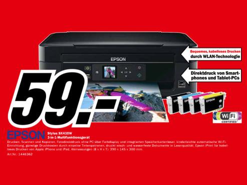 Epson Stylus SX435W ©Media Markt