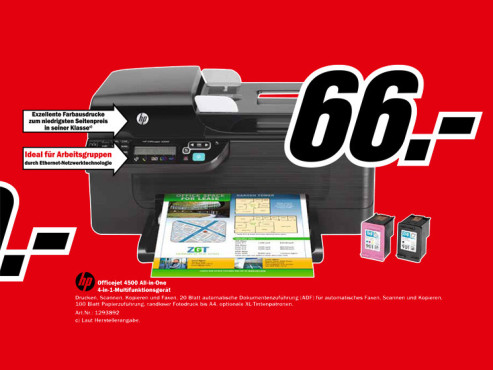 HP Officejet 4500 © Media Markt