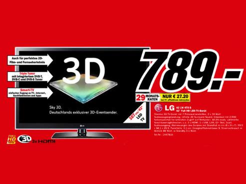 LG 42 LW 470 S ©Media Markt