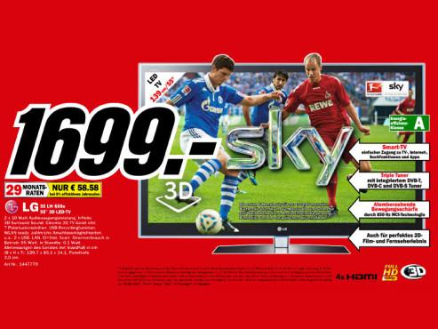 LG 55LW659S ©Media Markt