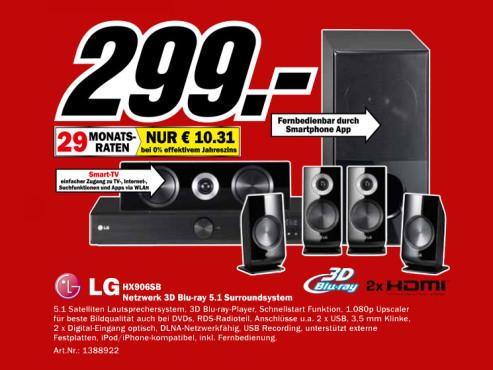 LG HX906SB ©Media Markt