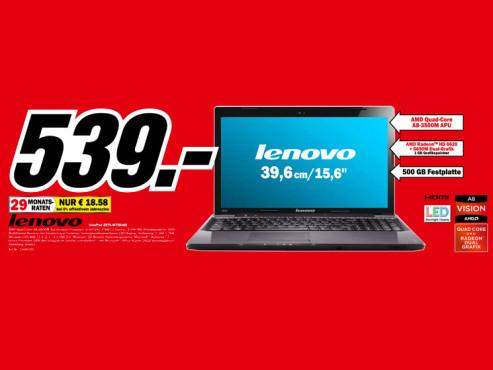 Lenovo IdeaPad Z575-M75DJGE ©Media Markt