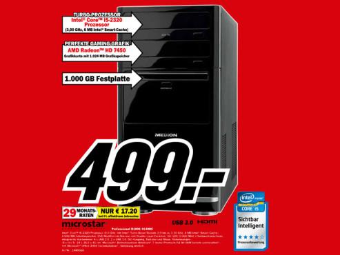 Microstar Professional i5100/8140E ©Media Markt