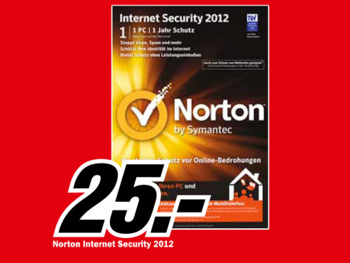 Norton Internet Security 2012 © Media Markt
