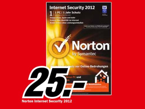 Norton Internet Security 2012 ©Media Markt