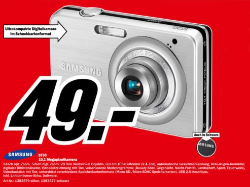 Samsung ST30 ©Media Markt