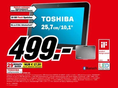 Toshiba AT200-101 ©Media Markt