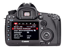 Kontrollmonitor Canon EOS 5D Mark III ©COMPUTER BILD
