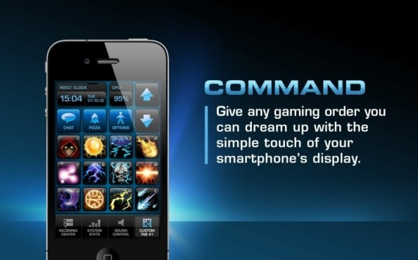 App Power-Grid: Command © Roccat