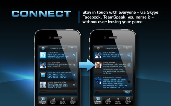App Power-Grid: Connect © Roccat