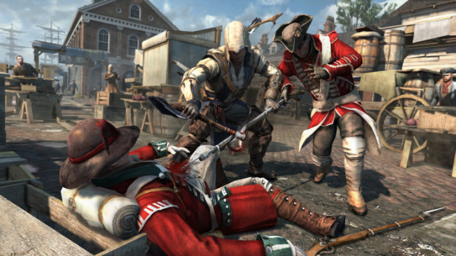 Actionspiel Assassin's Creed 3: Soldat © Ubisoft