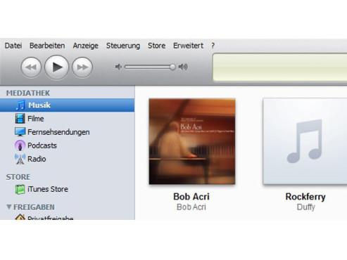 Per PC mit iTunes ©COMPUTER BILD