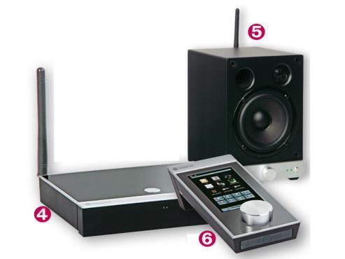 wlan netzwerk so starten sie die musikwiedergabe bilder screenshots audio video foto bild. Black Bedroom Furniture Sets. Home Design Ideas
