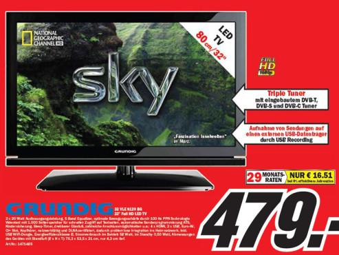 Grundig 32 VLE 8120 ©Media Markt