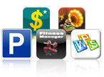 Vorteils-Aktion ©COMPUTER BILD, Apple, Google, © Peter Lakatos,© mobivention GmbH, Herocraft,Twofingers Apps, © 2011 iPont Software, Komoot, Jan Schoppenhorst, Kingsoft