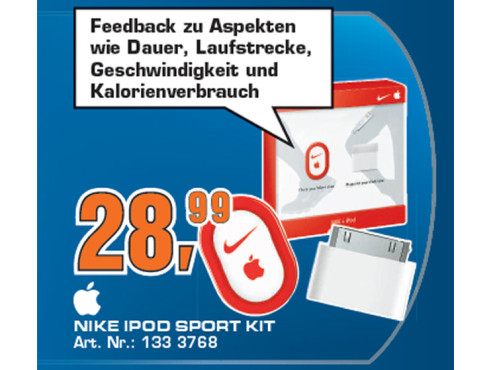 Apple Nike + iPod Sport Kit (MA365ZM) © Saturn
