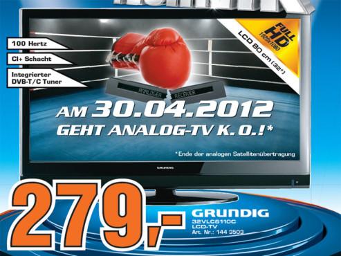 Grundig 32 VLC 6110 C ©Saturn