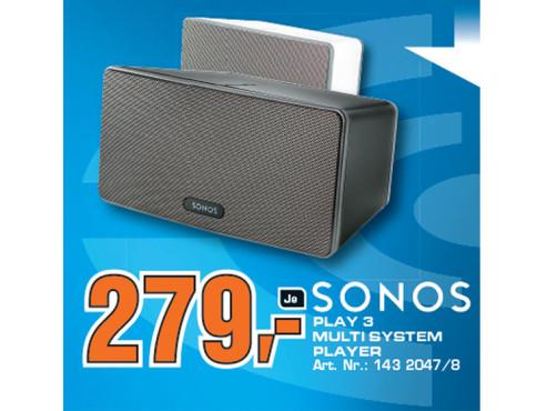 Sonos Play:3 ©Saturn