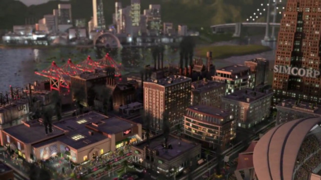 Simulation Sim City: Abendsonne © Electronic Arts