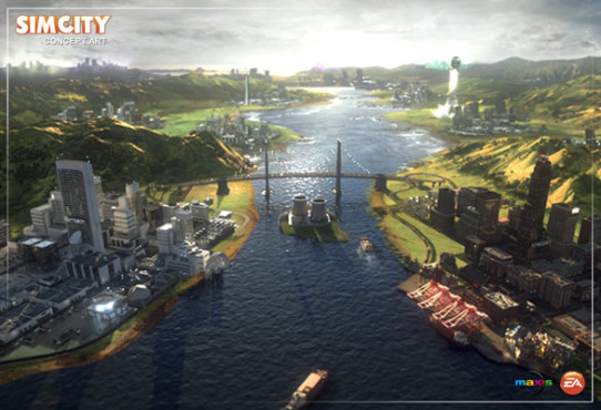 Simulation Sim City: Horizont © Electronic Arts