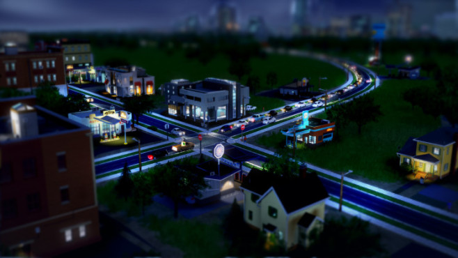 Simulation Sim City: Nacht © Electronic Arts