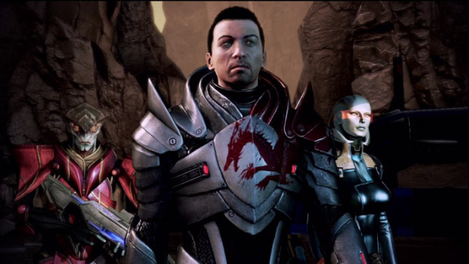 Rollenspiel Mass Effect 3: Attika-Traverse – Kroganisches Team © Electronic Arts